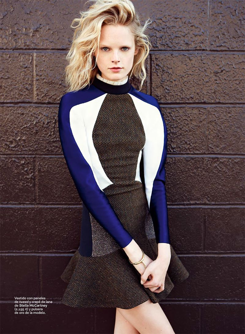 Hanne Gaby Odiele Styles and Stars in S Modas October 2012 Cover Story #stella mccartney