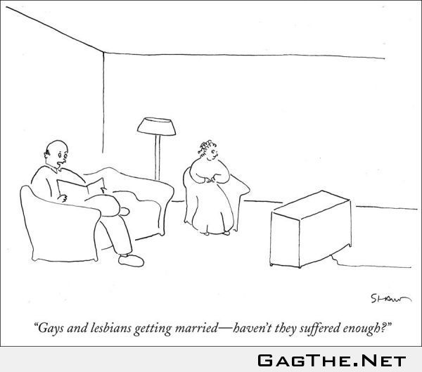 Why do gays want to get married?