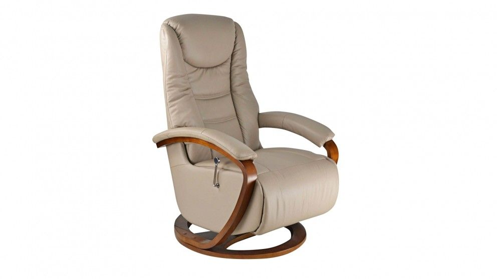 Sit Back In Pleasure With The Nordic Leather Swivel Recliner Allowing A 360  Degree Movement As You Recline In Luxurious Comfort That Will Quickly Make  It ...