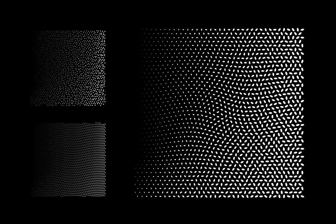 SquareTones1   20 Halftone Gradients - Textures   Creative