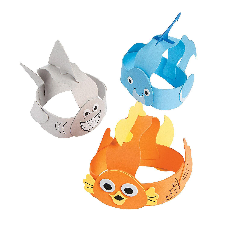 Under+the+Sea+Headband+Craft+Kit+-+OrientalTrading.com ...