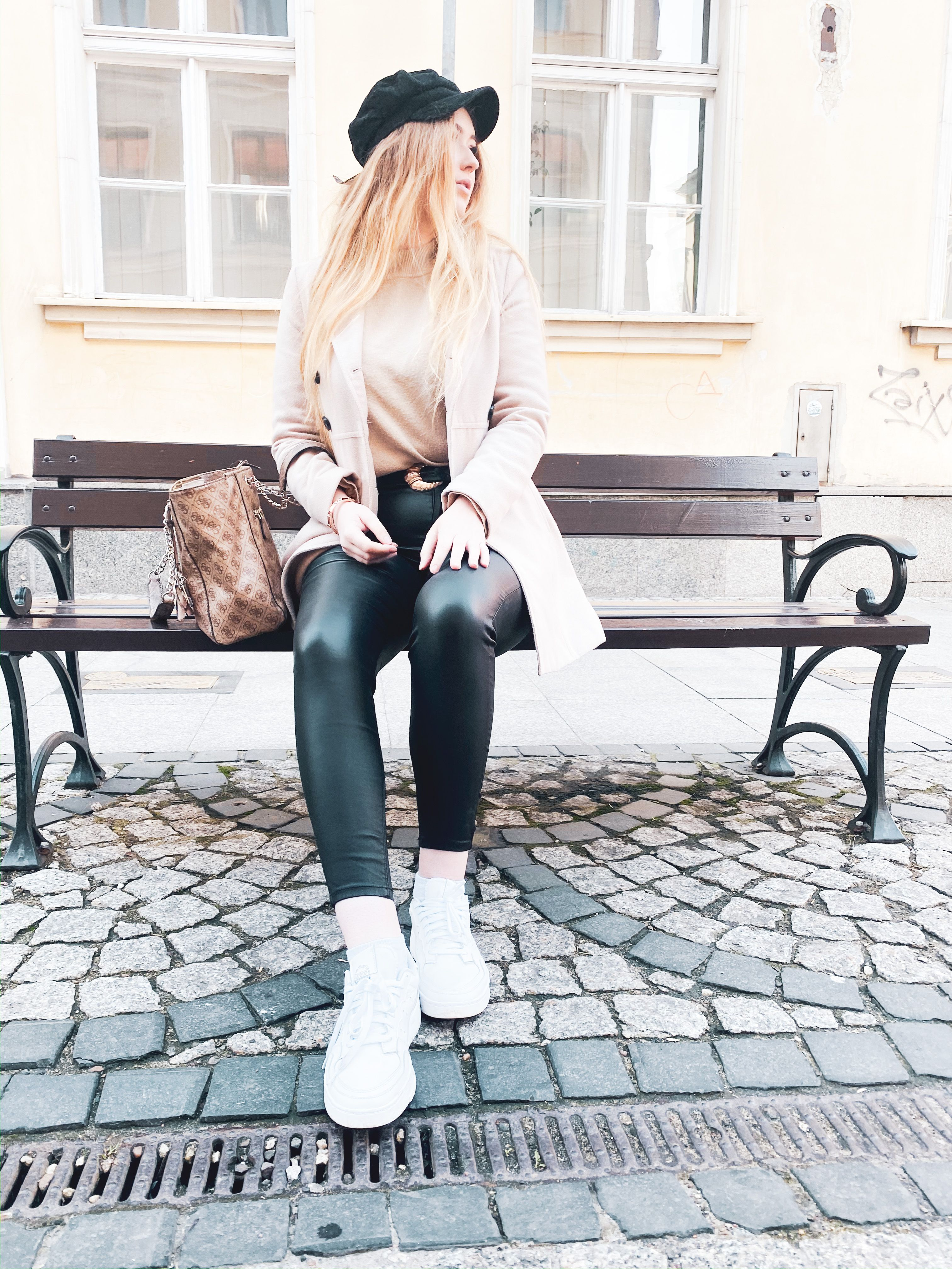More about wearing leather pants on my blog ✨ #leather #leatherpants #fashion #ootd #outfit #style #fashiontrend #trendyoutfits #trendy #outfitoftheday  #outfitideasforwomen  #outfitideas