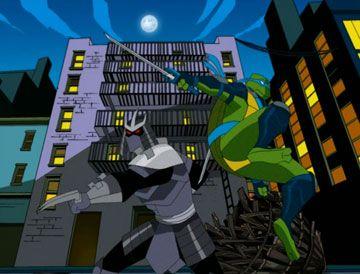 Tmnt Fast Forward Shredder Vs Leo Tmnt Ninja Turtles Teenage
