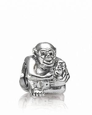 Pandora Chimp Charm