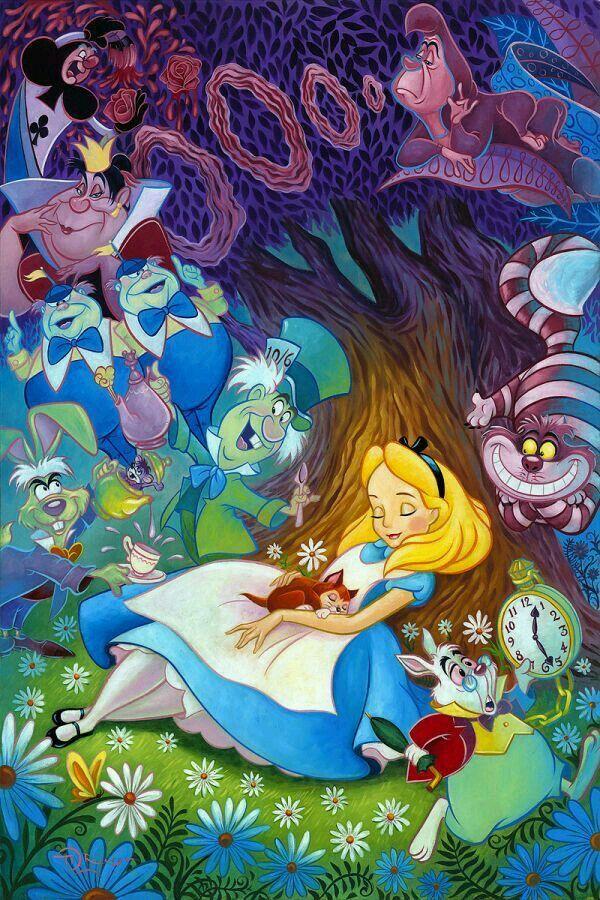 Alice In Wonderland Alice Alice No Pais Das Maravilhas Pais