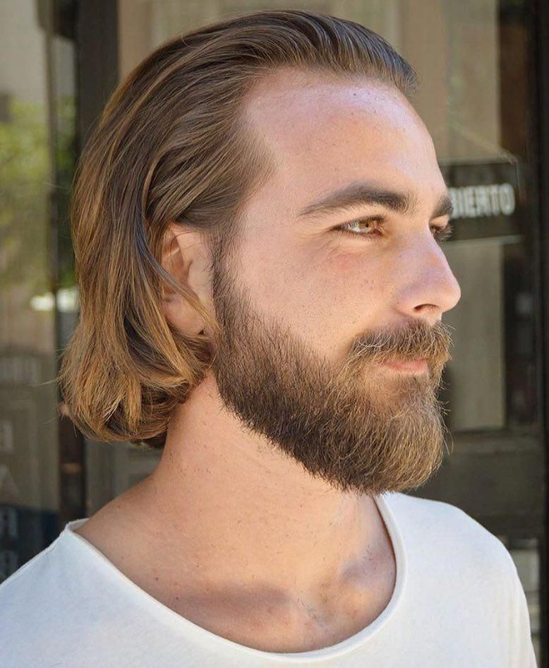 24++ Hairstyles for straight hair men trends