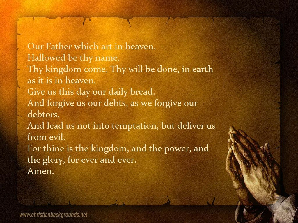 The Lord S Prayer Wallpaper Hd