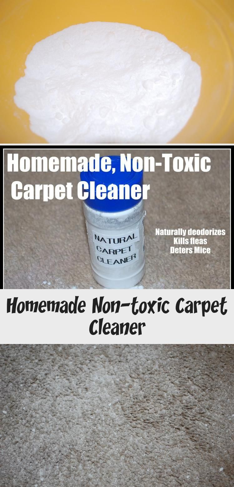 Homemade Non Toxic Carpet Cleaner Modern Alternative Health Naturally Deodorizes Kills Fleas And Deters Mice We Don T Have A Carpet Cleaners How To Clean Carpet Natural Carpet Cleaners