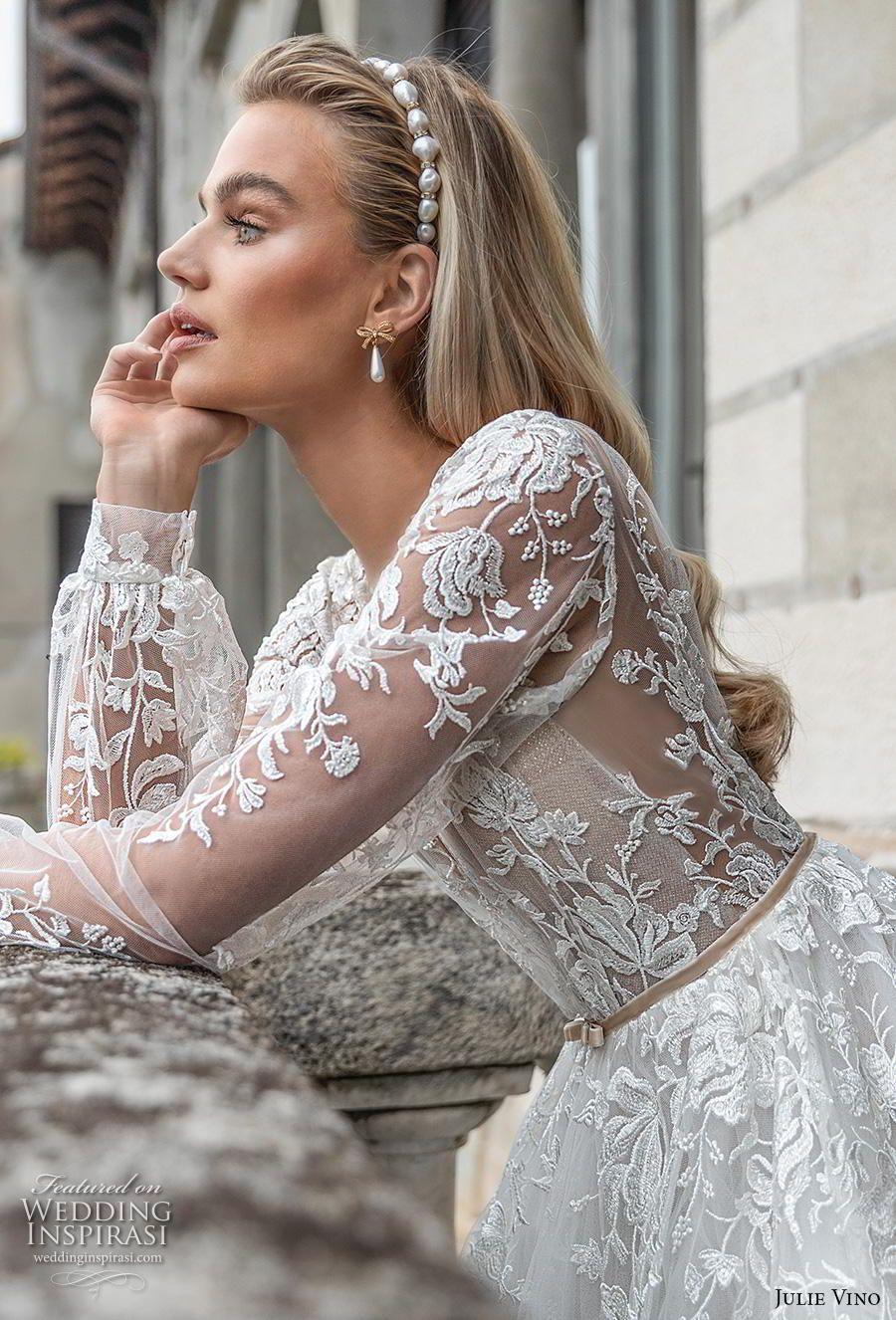 """Julie Vino Herbst 2020 Brautkleider – Brautkollektion """"Bellagio""""   – Wedding inspiration"""