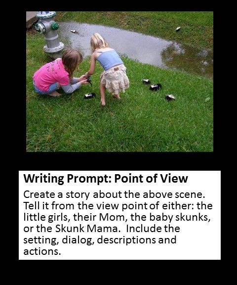 002 point of view writing prompt Writing Prompts Pinterest