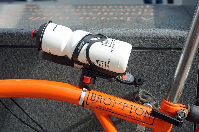 A Neat Solution Water Bottle Holder For Brompton Brompton