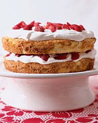 Strawberry Shortcake with Star Anise Sauce Recipe from Food & Wine