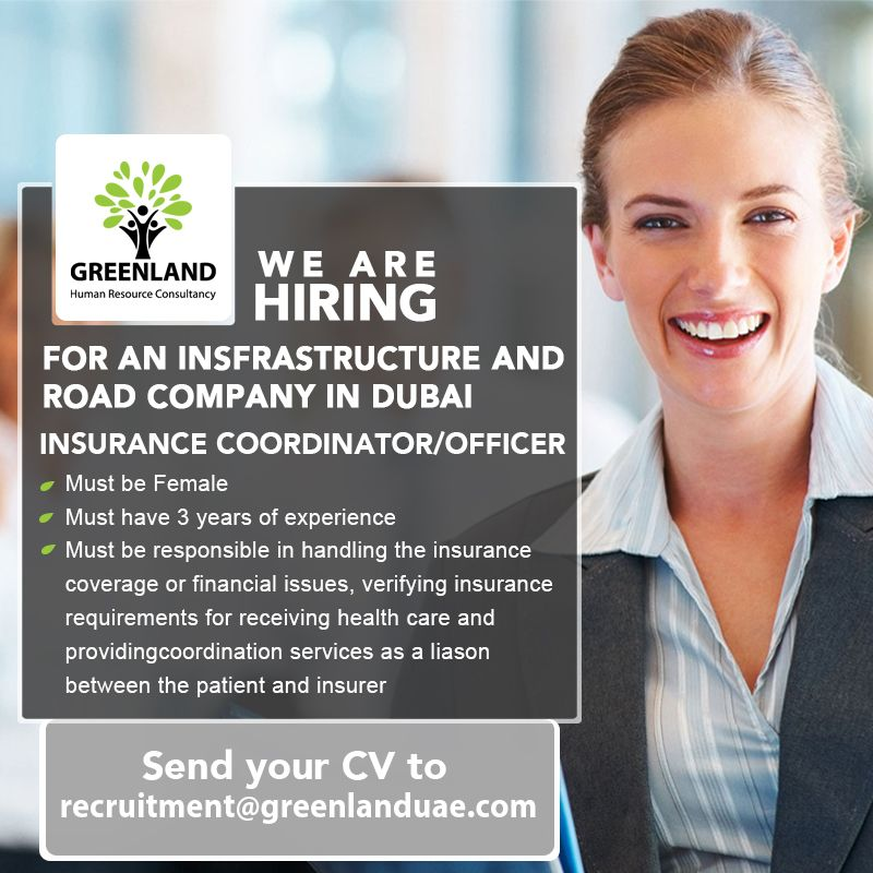 We Are Hiring For An Insfrastructure And Road Company In Dubai