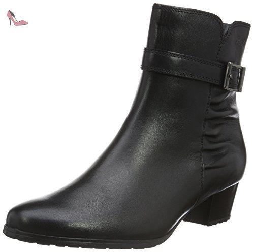 FereolaBottes femme Classiques 5 Noir Noir40 Sioux eWdxCrBo