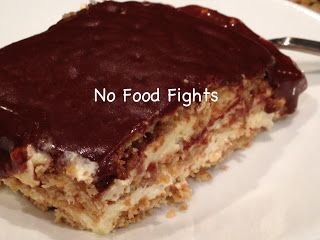 No Food Fights: No-Bake Eclair Dessert