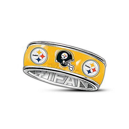 Nfl Pittsburgh Steelers 1 Fan Ring Pinterest Pittsburgh