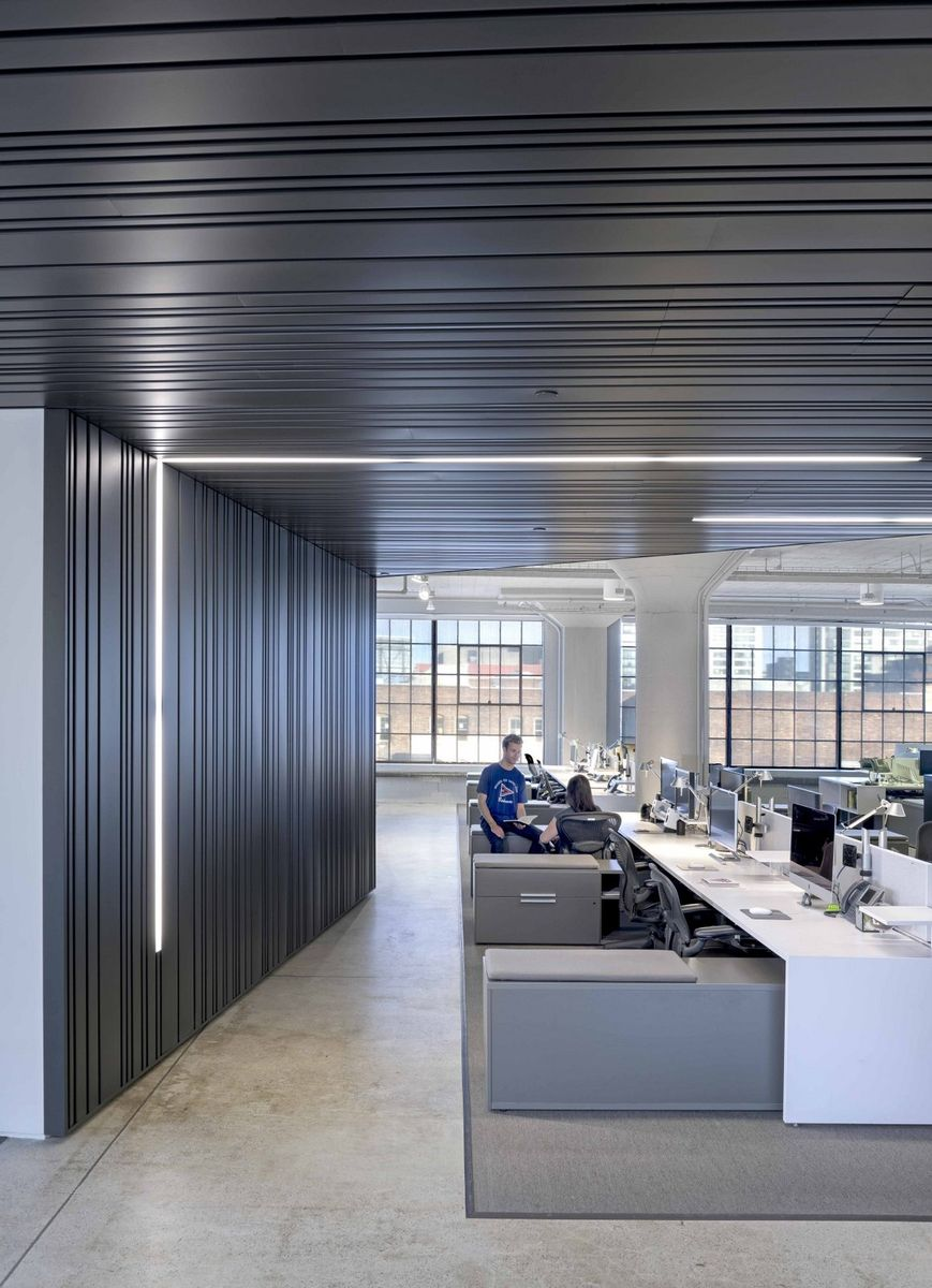 Inside look at wired offices san francisco workspace - Office interior design san francisco ...