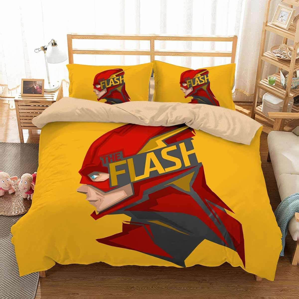 3d Customize The Flash Bedding Set Duvet Cover Set Bedroom Set Bedlinen Duvet Cover Sets Bedroom Sets Custom Bed