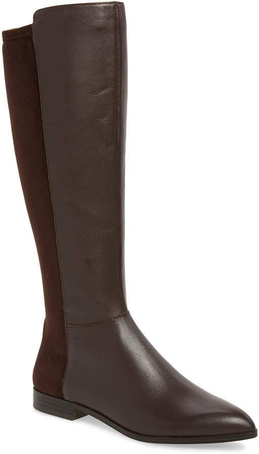 0a7a6592b3e8 Nine West Owenford Knee High Riding Boot
