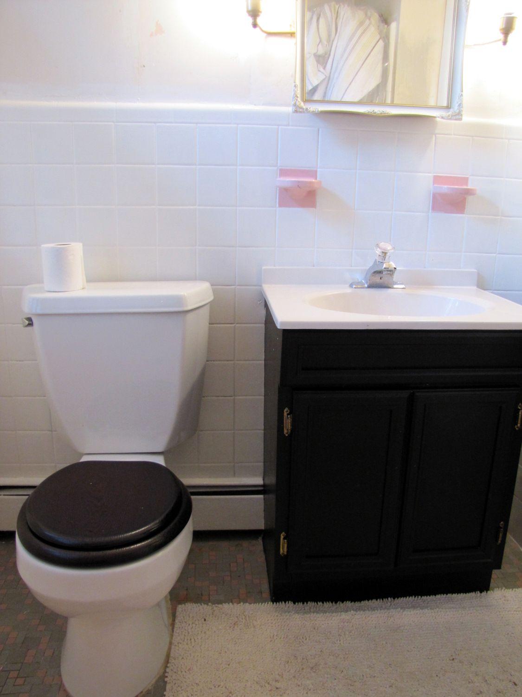 Progress In The Quick Fix Bathroom Project Bathroom Remodel