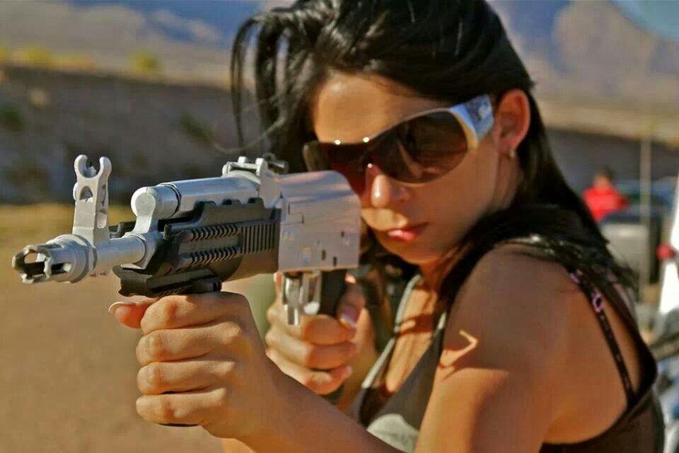 AK - Stephanie Hayden | Avtomat Kalashnikov | Guns, Girl guns