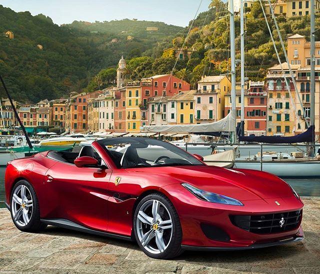 Ferrari Portofino Wallpaper: Portofino Em... Portofino! (Ok A Piada é Horrível Mas O