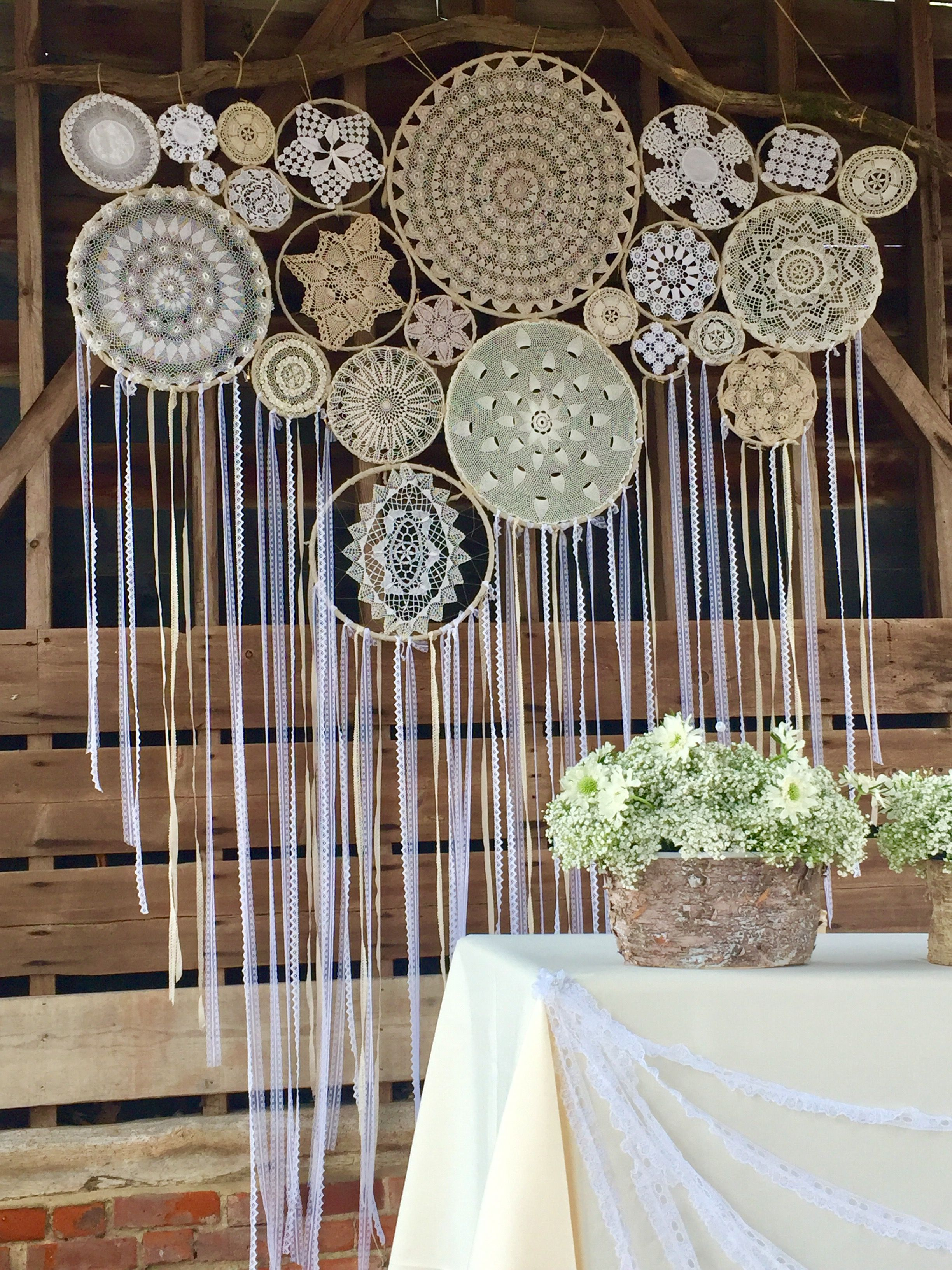 Wedding Dream Catcher Backdrop Boho Wedding Ideas Rustic Weddings