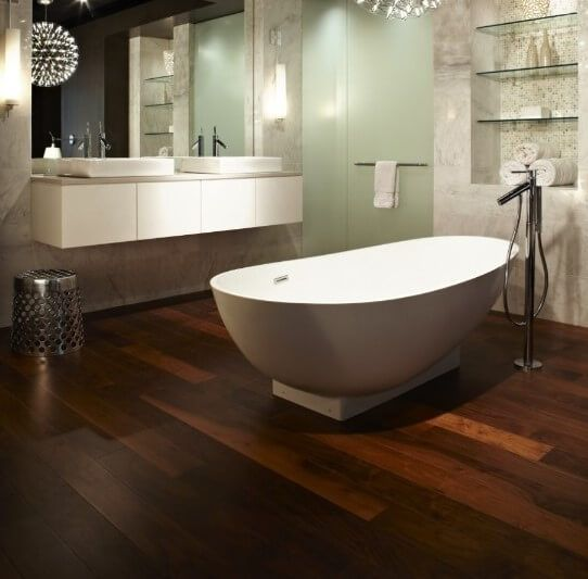 wood bathroom flooring options decor ideas materials best for indian rh za pinterest com