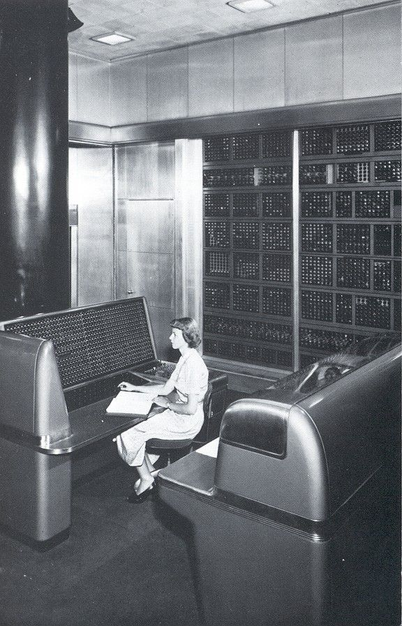 The IBM Selective Sequence Electronic Calculator computer, an electromechanical computer operated from 1948 to 1952.