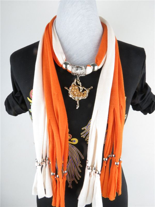 Cheap scarves with jewelry attached wholesale Canada | Jewelry Scarf ...