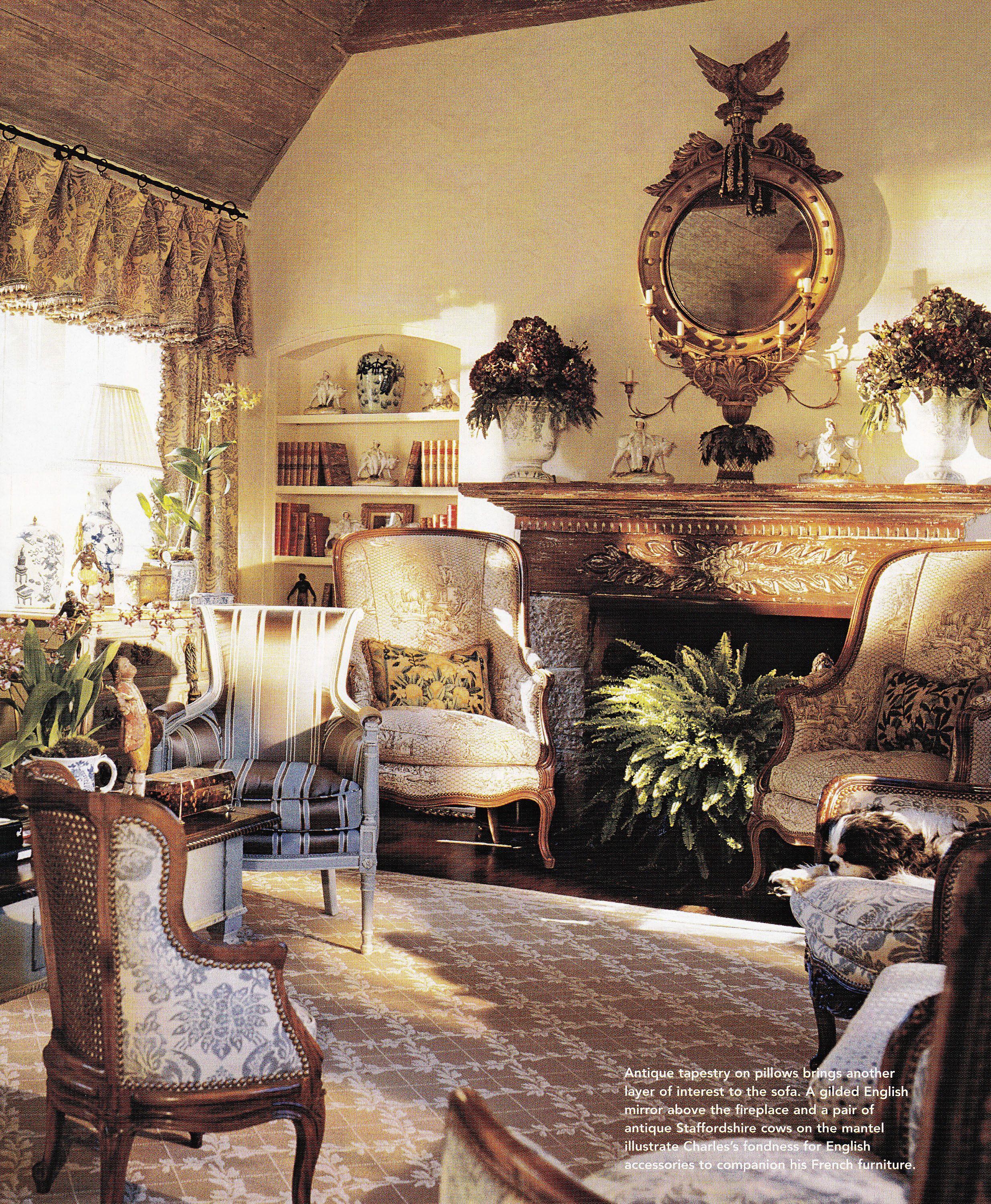 Charles Faudree. Traditional Home May 2003
