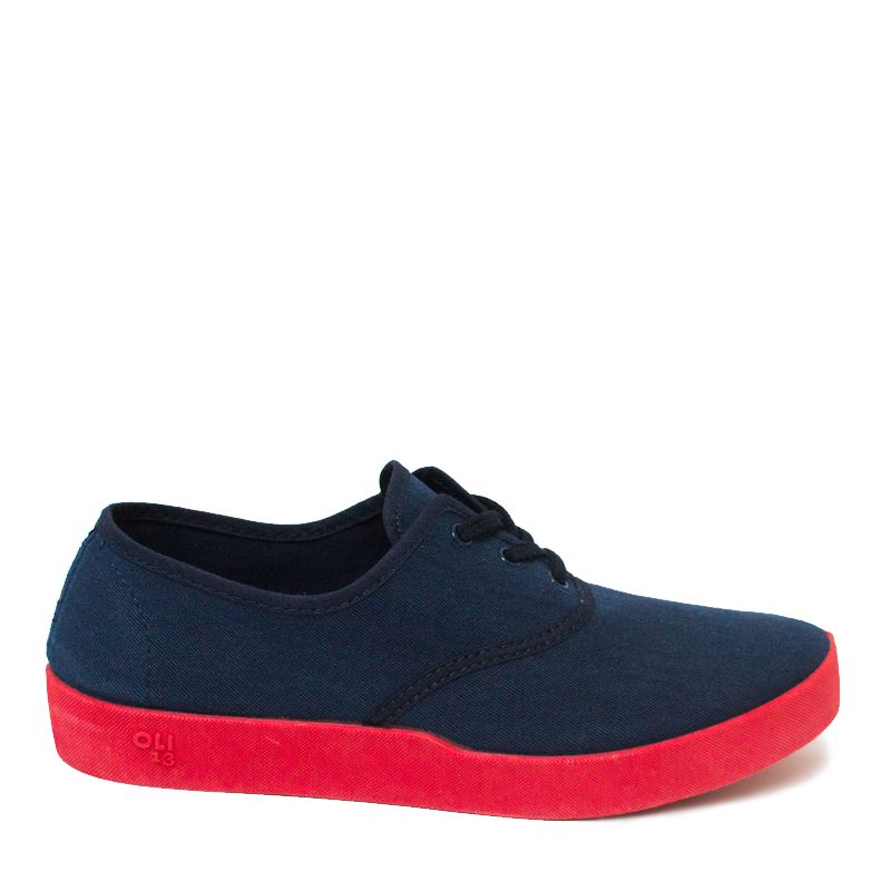 Image of Oli 13 Derby blue-red