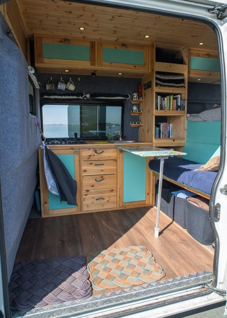 Photo of Pin by Emily Poole on Camp Life | Van living, Van interior, Van life