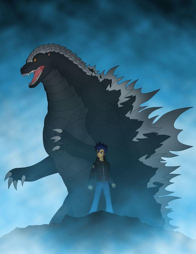 Flash Sentry and Godzilla by PyrusLeonidas on DeviantArt