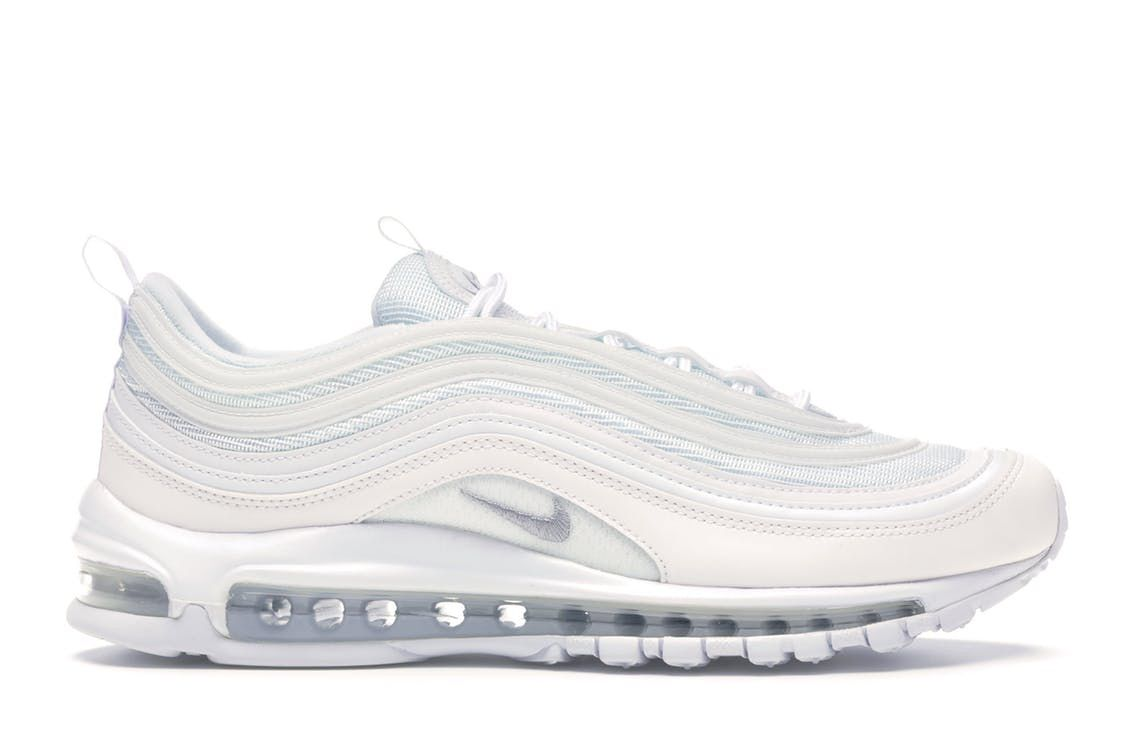 Check Out The Air Max 97 Triple White Wolf Grey Available On