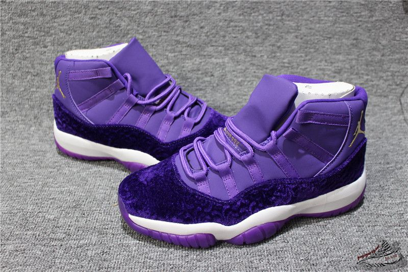 check out 7ddd8 fd805 Air Jordan 11 Retro Purple Velvet