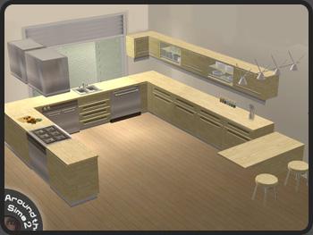 Epingle Par 2fw Custom Content Sur Sims 2 2000s Cc Maison Sims 2 Moderne