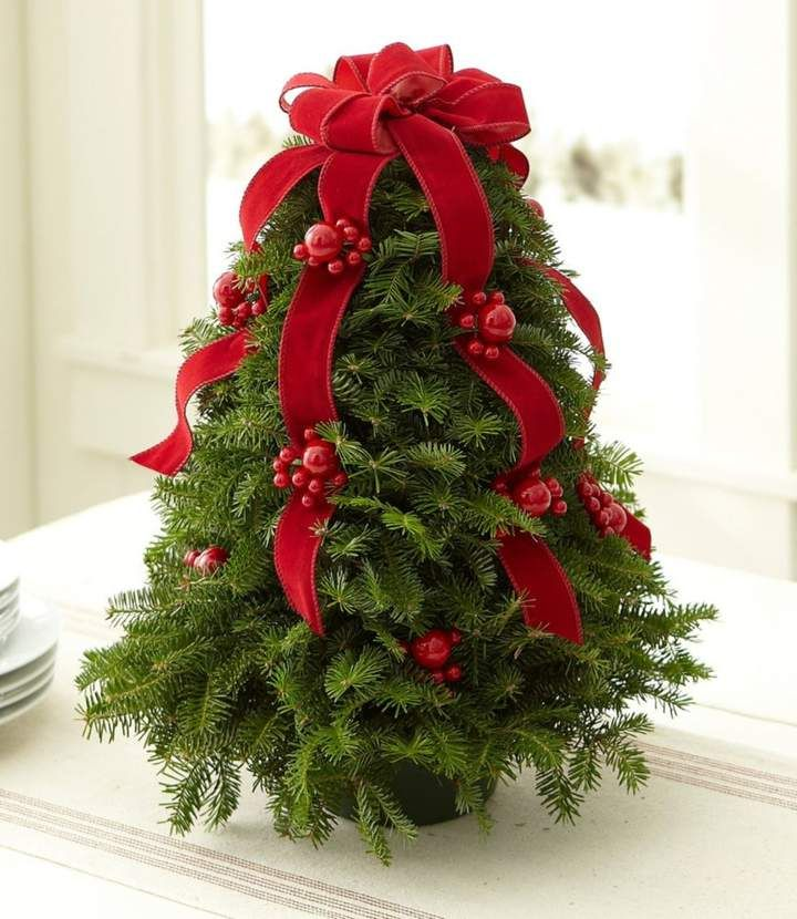 LL Bean LLBean Traditional Balsam Tabletop Tree Products