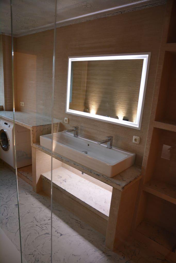 Finde moderne Badezimmer Designs in Beige Spa und Bäder Fugenlose - die schönsten badezimmer