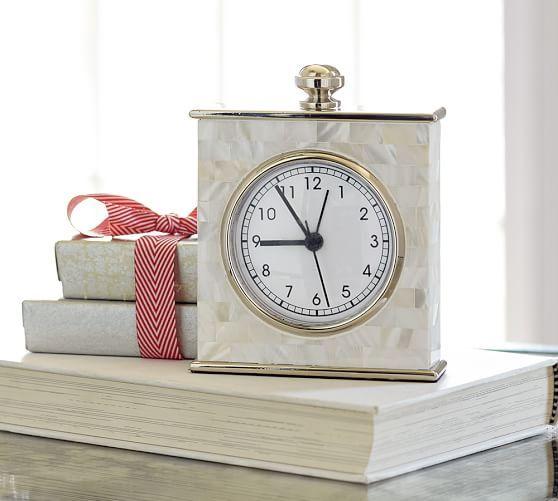 Mother Of Pearl Clock Clock Decor Mantel Clocks Oversized Wall Clock
