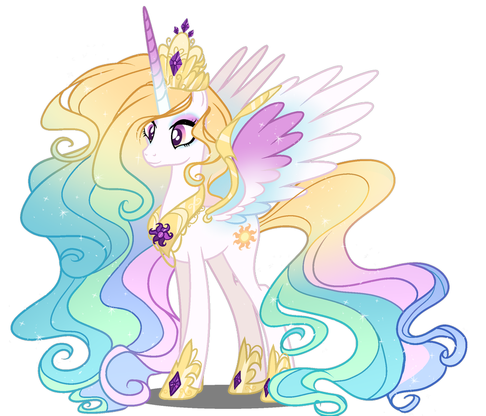 Mld Princess Celestia Next Gen By Gihhbloonde On Deviantart My Little Pony Wallpaper My Little Pony Drawing My Little Pony Characters