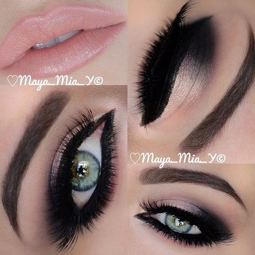 Glitter Prom Makeup Tumblr