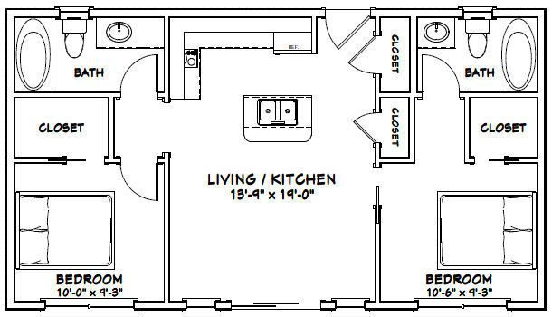 Details about 30x24 House -- 1 Bedroom 1 Bath -- 720 sq ft ... on 20x20 floor plan, 18x24 floor plan, 36x36 floor plan, small house plans with open floor plan, 20x28 floor plan, 28x28 floor plan, 15x15 floor plan, 18x18 floor plan, 16x16 floor plan, 50x50 floor plan, 16x24 floor plan, 12x24 floor plan, 30x30 floor plan, 36x24 floor plan, 24x36 floor plan, 14x14 floor plan, 12x12 floor plan, 30x40 floor plan, 12x10 floor plan, 40x50 floor plan,