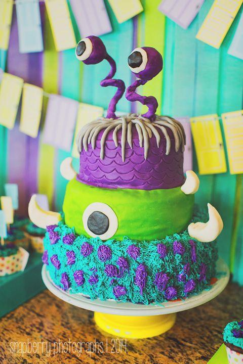 Tremendous Monsters Inc Birthday Cake Sulley Birthday Cake Mike Wazowski Personalised Birthday Cards Epsylily Jamesorg