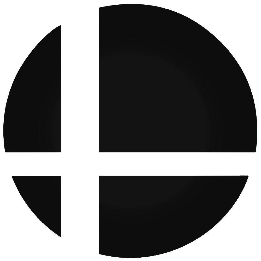 Super Smash Bros Logo Decal Sticker | Super smash bros ...