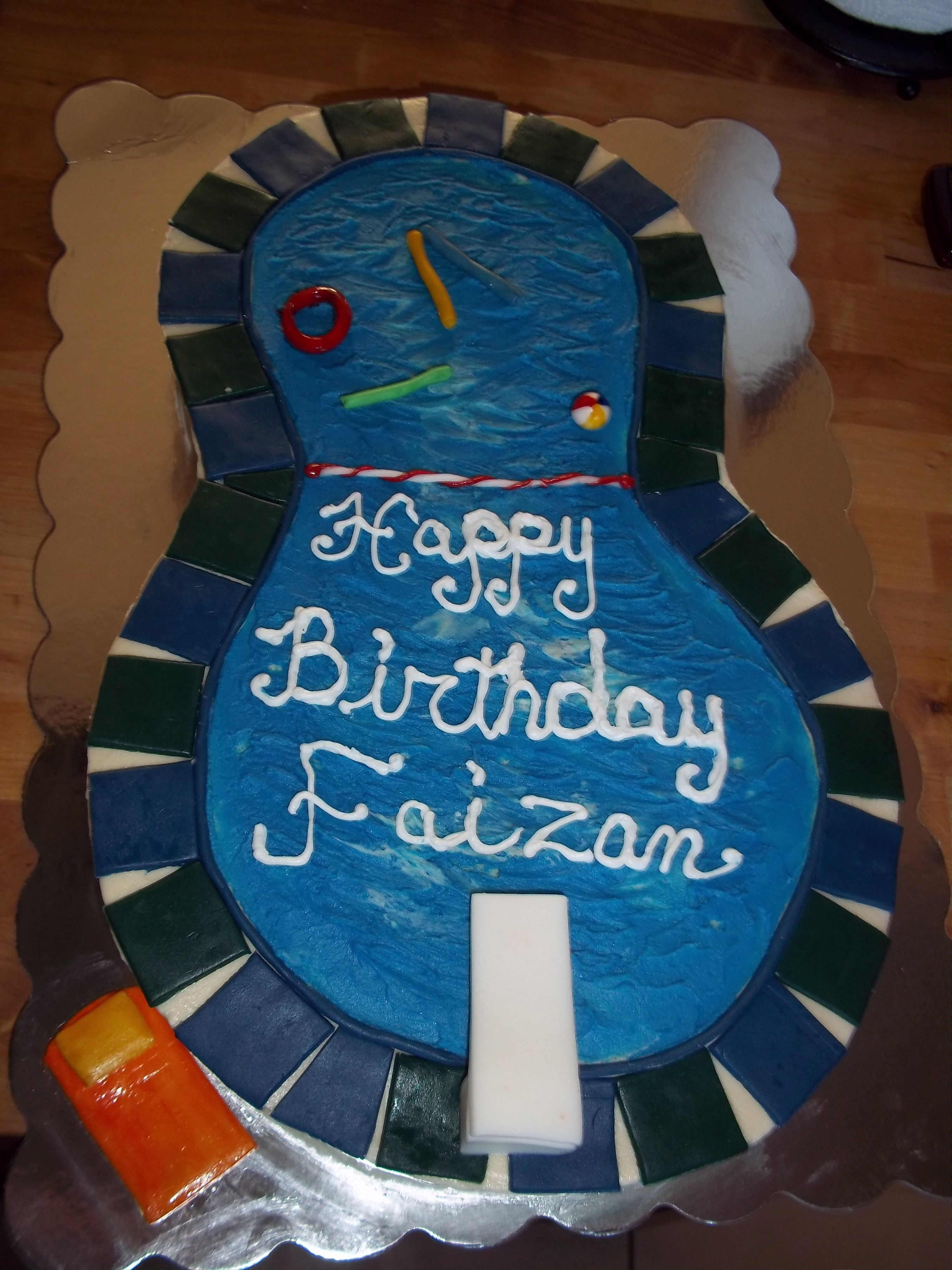 40++ Birthday cake pool steps ideas in 2021