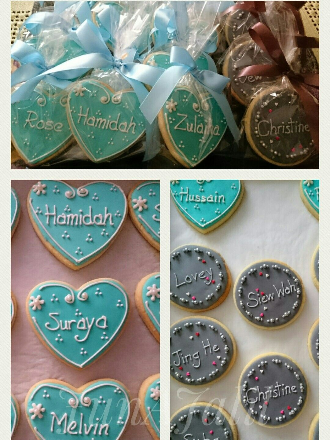 Name Sugar Cookies. My first Name sugar cookies ordered by my niece. I'm happy with the piping ...