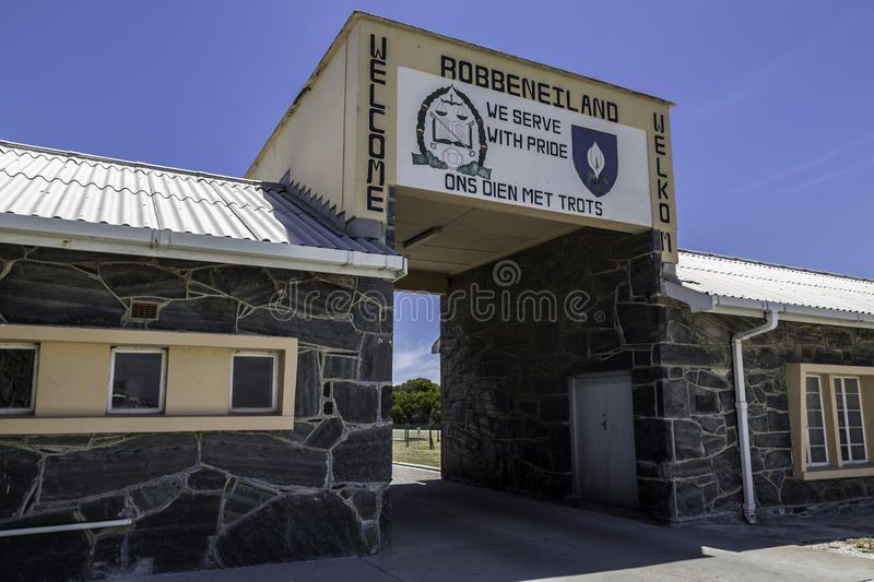 Robben Island Prison Entrance South Africa Affiliate Prison