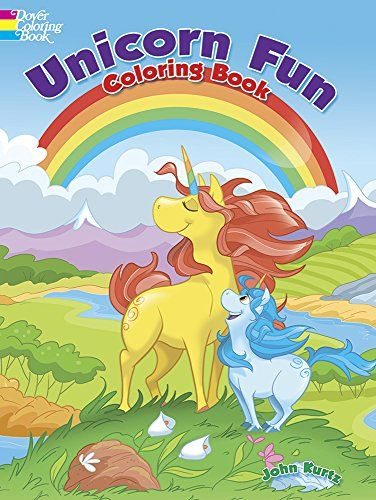 Unicorn Fun Coloring Book By John Kurtz Http Www Amazon Com Dp 0486781968 Ref Cm Sw R Pi Dp Afjzwb0h8x3eh Coloring Books Unicorn Books Mermaid Coloring Book