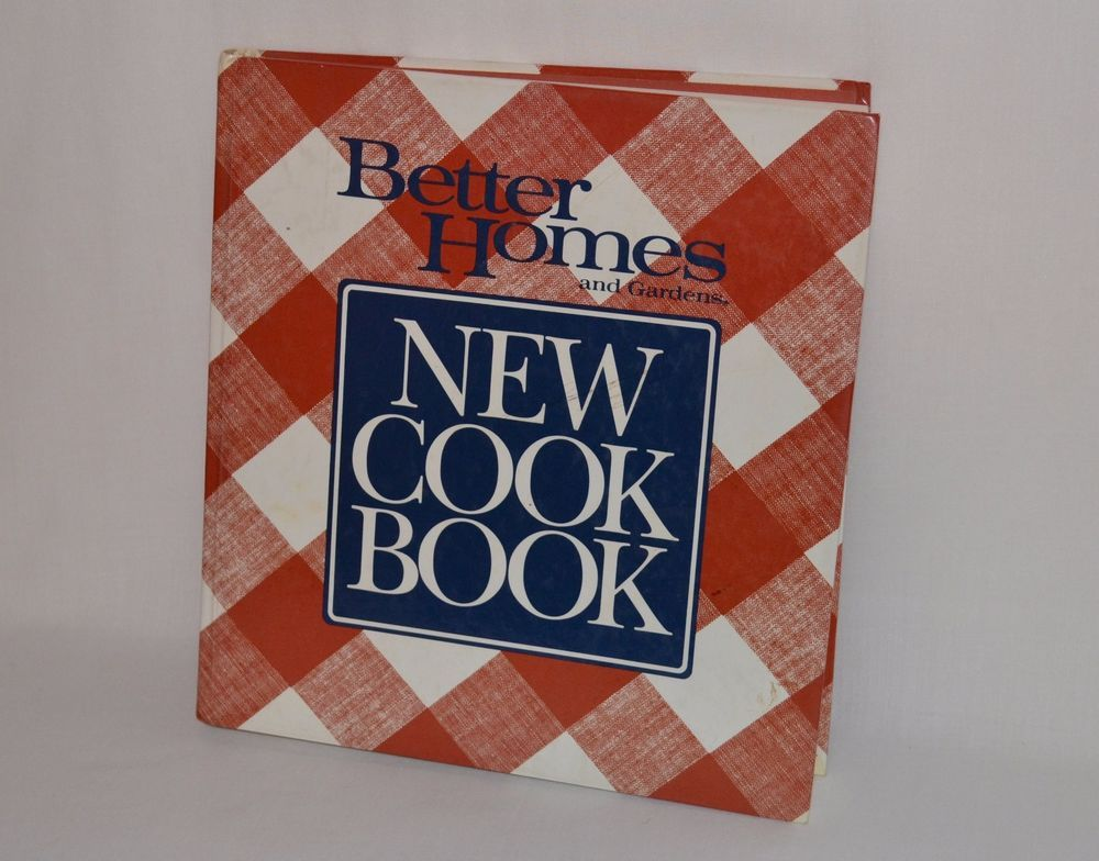 1989 Hardcover Better Homes Gardens New Cookbook by Meredith